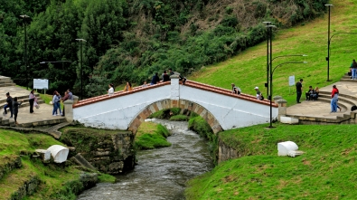 Die berühmte Puente de Boyaca