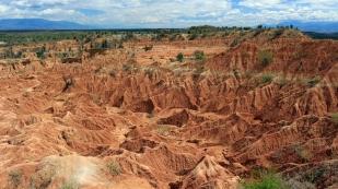 Auch die Aussicht vom Mirador de Los Colorados...
