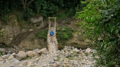 Kleine Brücke, aber halbwegs stabil