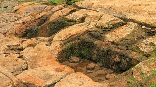 An der Quelle von Lavapatas - hier wurden Waschungen durchgeführt