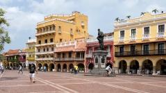 Plaza de los Choches - hier fand einst der Sklavenmarkt statt