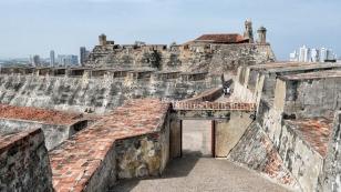 Hoch oben auf der Festung...