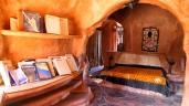 Blick in das gemütliche Schlafzimmer...