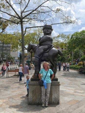 ...des kolumbianischen Künstlers Fernando Botero