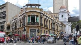 In den Straßen von Medellin