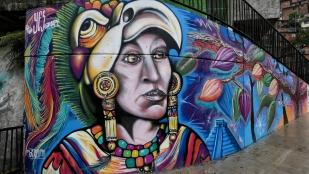 Graffities zieren die Mauern...