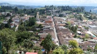 Blick vom Alto de la Cruz