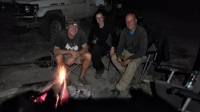 Gemütlich am Lagerfeuer