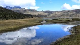Um die Laguna de Limpiopunga...