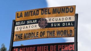 In der Mitte der Welt...
