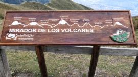 Alle mehr oder weniger zu sehende Vulkane