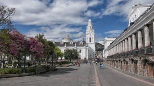 Kathedrale an der Plaza Grande