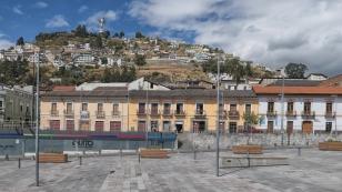 Blick zum Mirador El Panecillo