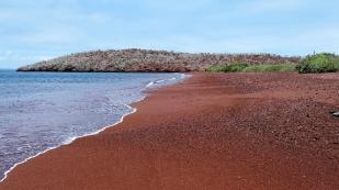 Strand auf der Insel Rábida