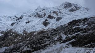 Schneebedeckte Berge...