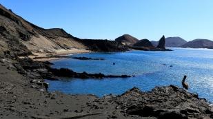 Blick zur Insel Bartolomé