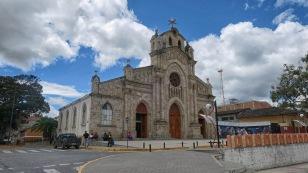 Kirche in Saraguro...