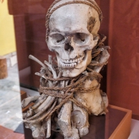 Teile einer Mumie