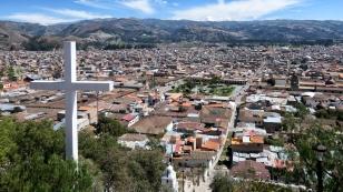 Vom Cerro Santa Apolonia kann man die ganze Stadt überschauen