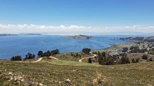 Noch ein Blick auf den Titicacasee