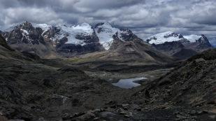 Auf dem Wanderweg zum Gletscher