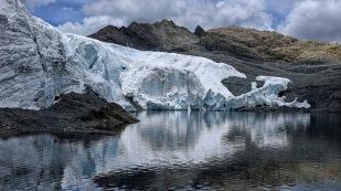 ...ist einer der wenigen Gletscher...