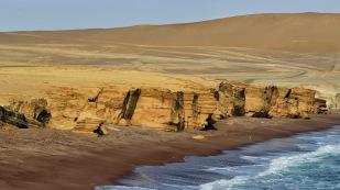 Playa Roja im Reserva Nacional de Paracas