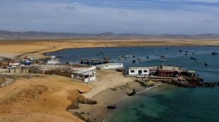 ...am kleinen Fischerort Lagunillas
