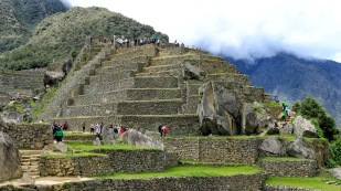 Intihuatana-Pyramide