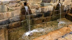 Ausgeklügeltes Wassersystem