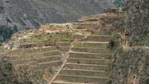 Blick zur eigentlichen Festung