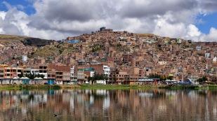 Blick auf Puno