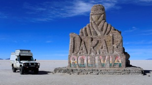 Dakar-Monument aus Salz