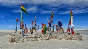 Flaggen der teilgenommenen Länder