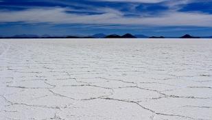 Weiter geht es über den Salzsee...