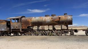 ...der als der größte Eisenbahnfriedhof...
