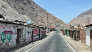 Ärmliche Dörfer