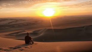 Herrlicher Sonnenuntergang