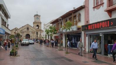 Auch in La Serena gibt es Kirchen.