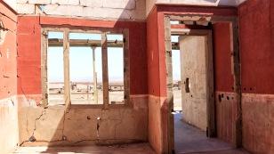 Blick zum Eingangsbereich des Hauses...