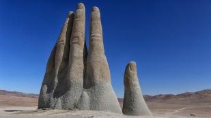 ...an der Mano del Desierto
