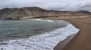 ...mit seinem schönen Sandstrand