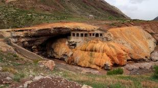 Die Steinbrücke Puente del Inca...