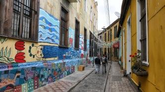 Überall gibt es Streetart zu sehen...