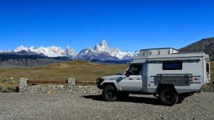 Wir nähern uns dem Parque Nacional Los Glaciares.