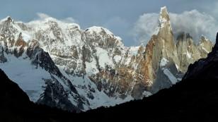 ...und noch sehen wir den Cerro Torre...