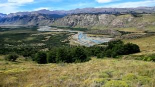 Blick ins Tal zum Rio de las Vueltas