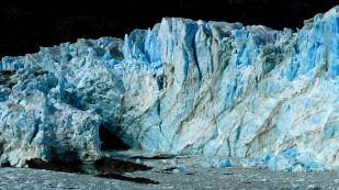 Gletscher in verschiedenen Farben