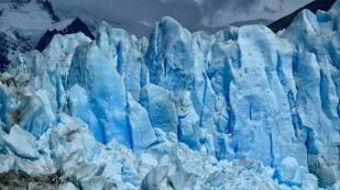 Bizarre Eisformationen