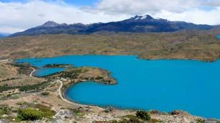 Am Lago Pehoé